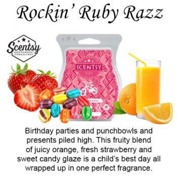 Rockin' Ruby Razz Scentsy Wax Melt