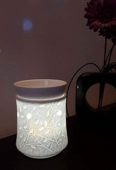 Scentsy Crystal Woods Electric Wax Warmer