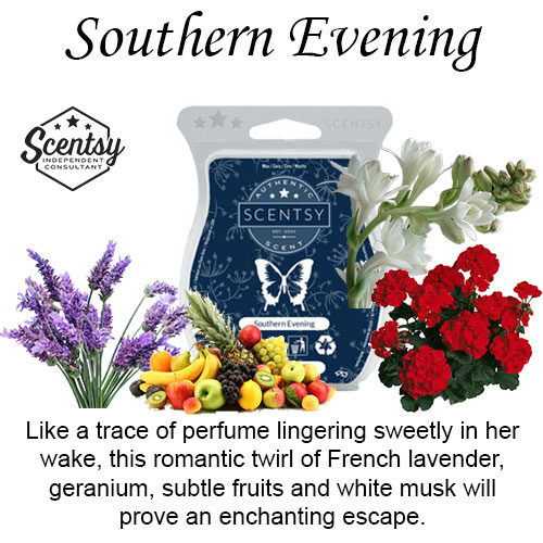 Southern Evening Scentsy Wax Melt