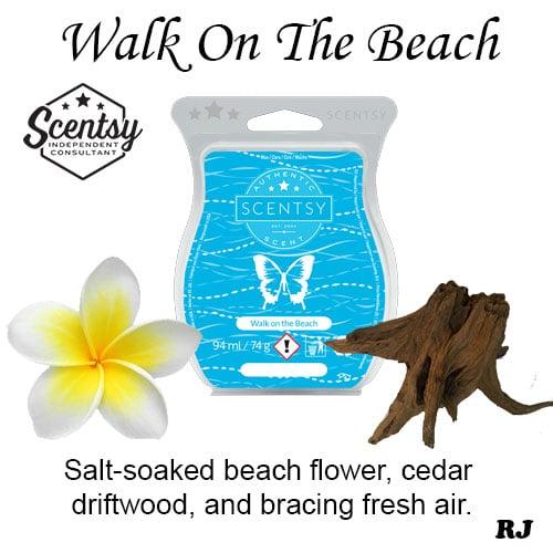 wak on the beach scentsy wax melt