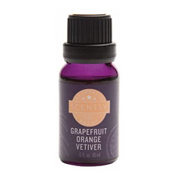 Grapefruit Orange Vetiver Scentsy Natural Oil