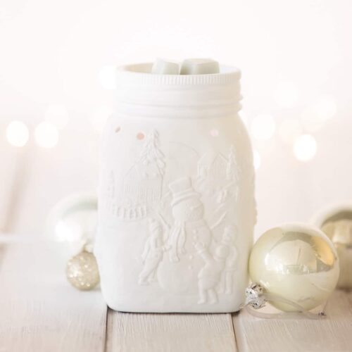 Let It Snow Scentsy Warmer