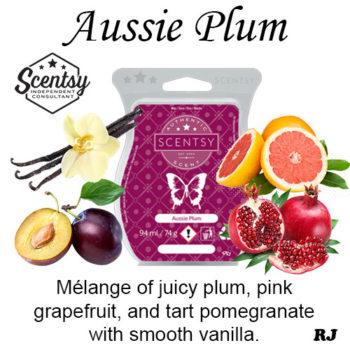 aussie plum scentsy wax melt