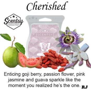 cherished scentsy wax melt