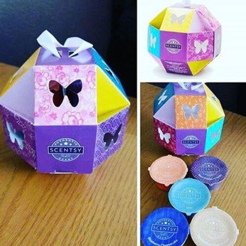 scentsy paper origami box