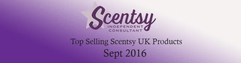 Top Selling Scentsy Products September 2016