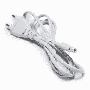 2-Pin White Cord