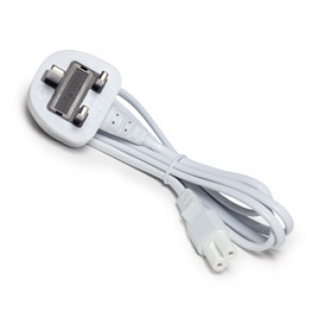 3 Pin White Cord