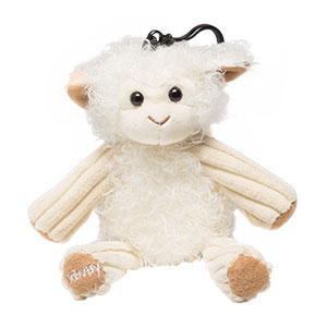 Lenny The Lamb With Jammy Time Scentsy Buddy Clip