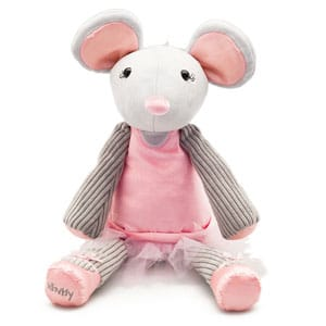 Maddie The Ballerina Mouse Scentsy Buddy
