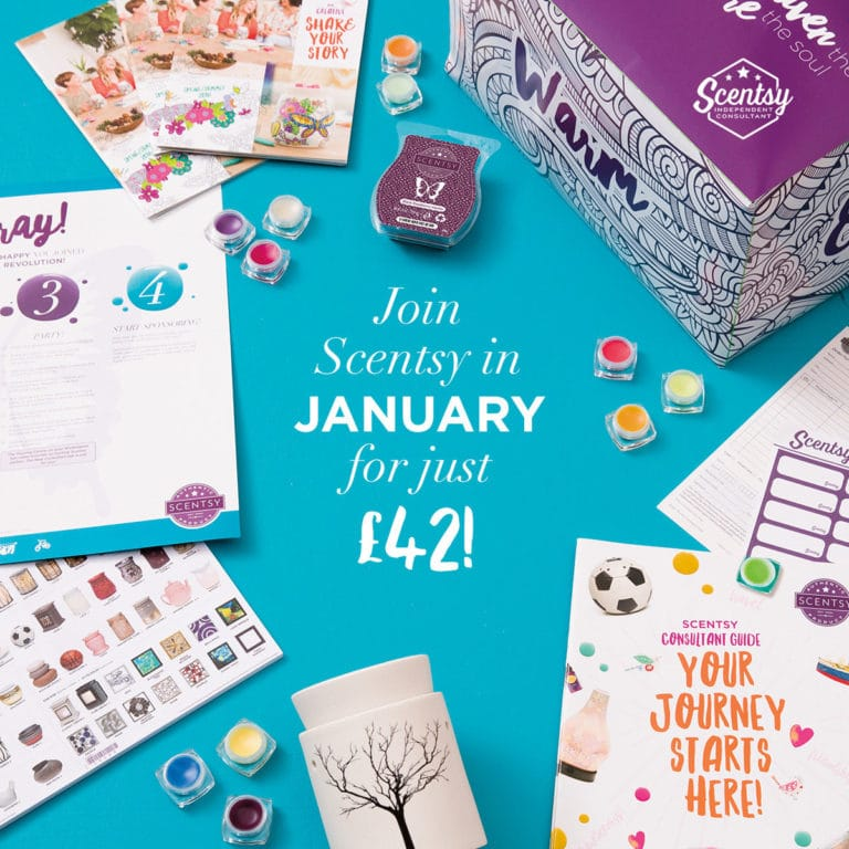 Join Scentsy Offer Throughout January 2017!