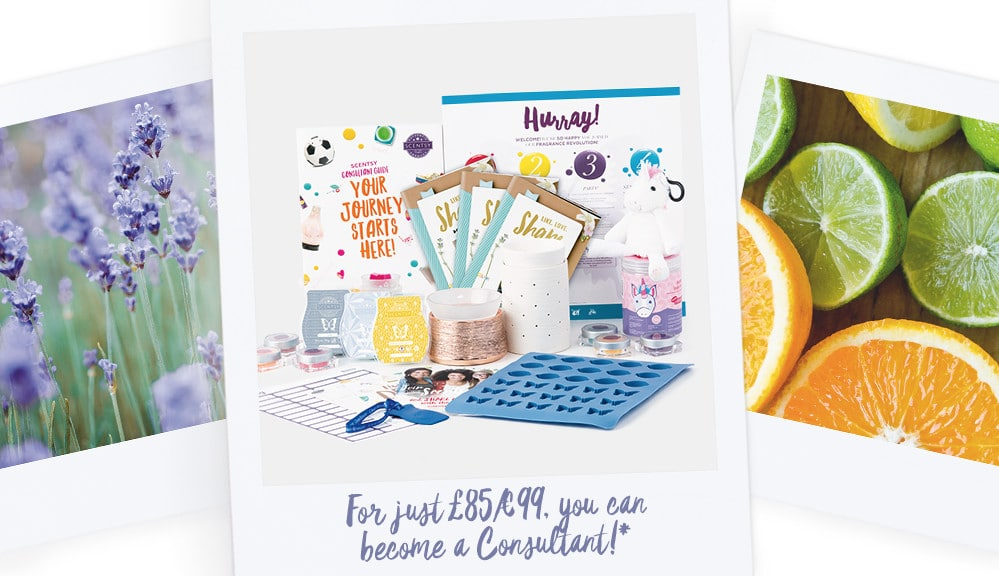 Join Scentsy UK 2017 Starter Kit