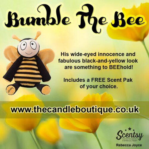 Bumble Bee Scentsy Buddy Toy