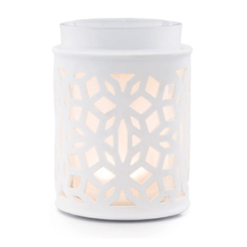 Darling White Scentsy Warmer