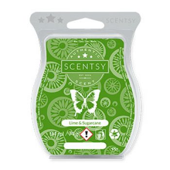 Lime and Sugarcane Scentsy Bar