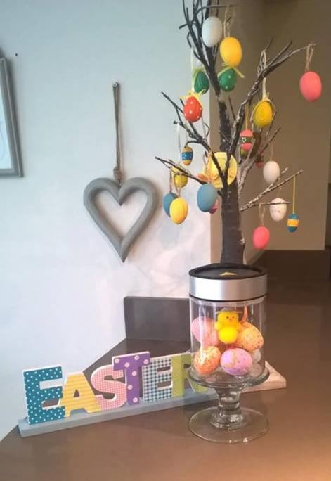 Make A Scene Easter Styled Warmer