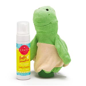 Twiggy the Turtle Scrubby Buddy + Bath Smoothie