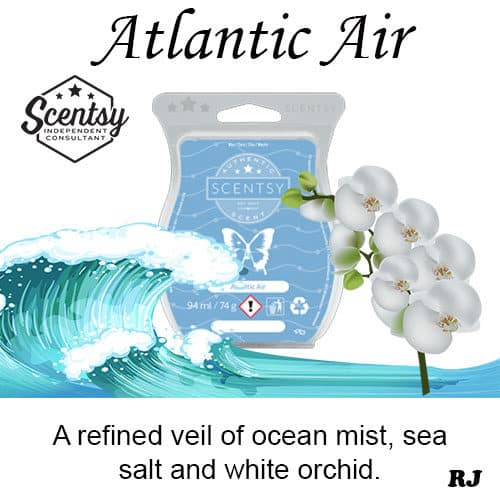 atlantic air scentsy wax melt