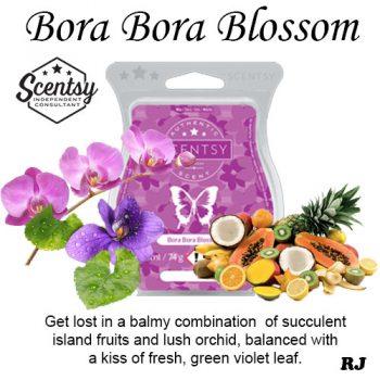 Scentsy Bora Bora Blossom Scented Wax Melt