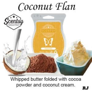 Coconut Flan Scentsy Wax Melt