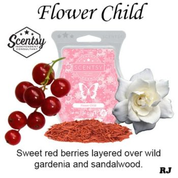 flower child scentsy wax melt