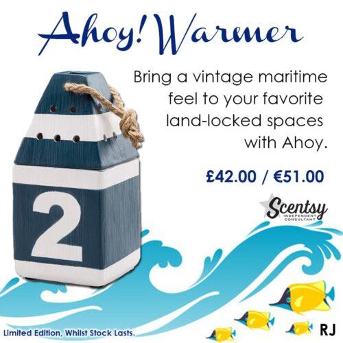 Ahoy Scentsy 2017 Summer Warmer