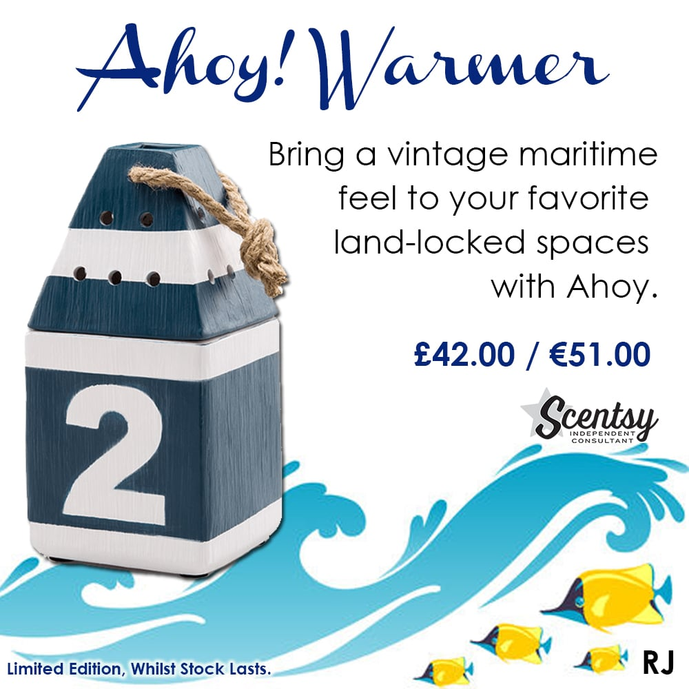 Ahoy Scentsy 2017 Summer Warmer