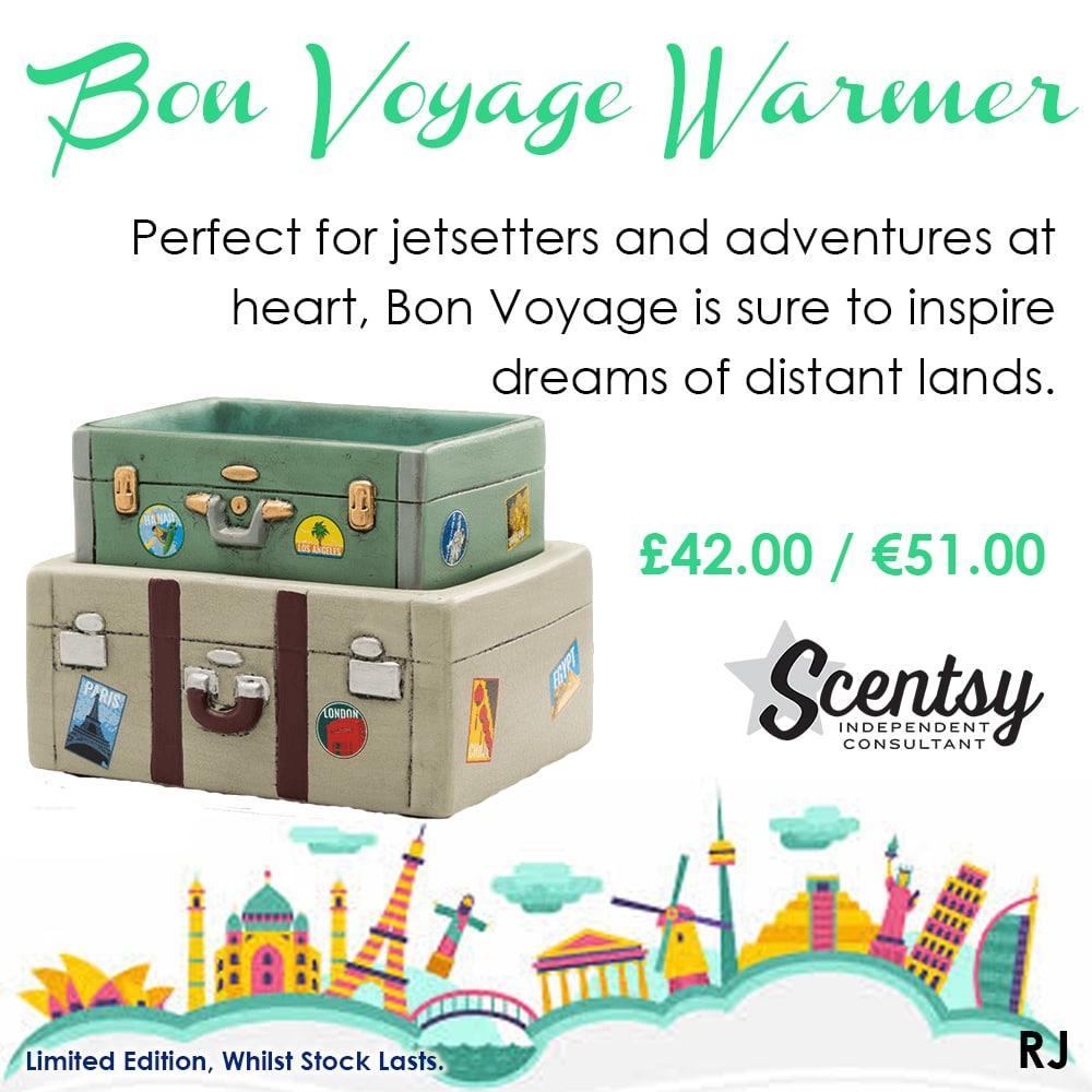 Bon Voyage Scentsy Warmer