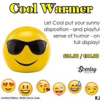 Scentsy Smiley Face Warmer Emoji