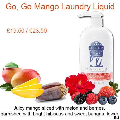 go go mango laundry liquid