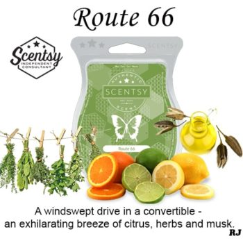 Route 66 Scentsy Wax Bar