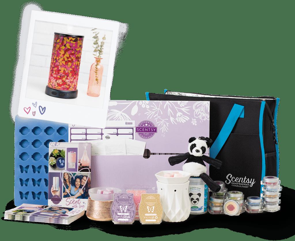 Join Scentsy August Enhanced Starter Kit