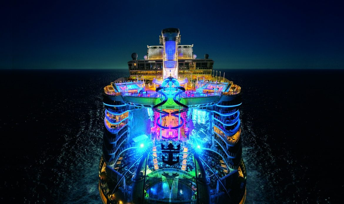 Royal Caribbean's brand new Symphony of the Seas