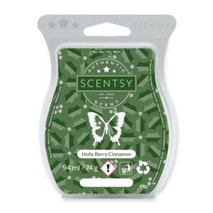 Holly Berry Cinnamon Scentsy Bar