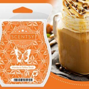 Mandarin Toffee Treat