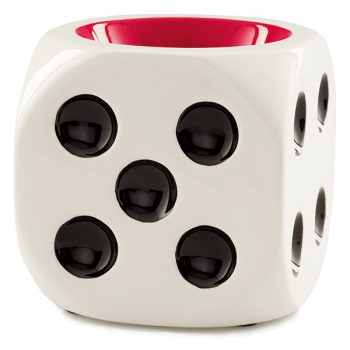 White Dice Warmer