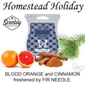 Homestead Holiday Scentsy Bar