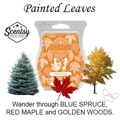 Painted Leaves Scentsy Bar