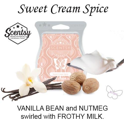 Sweet Cream Spice Scentsy Bar