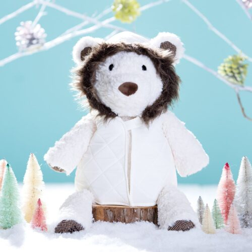 Buddy Clothing, Fur-Lined Jacket With Frost The Polar Bear