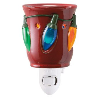 Holiday Lights Scentsy Plugin Mini Warmer