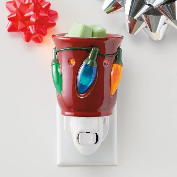 Holiday Lights Scentsy Plugin Mini Warmer