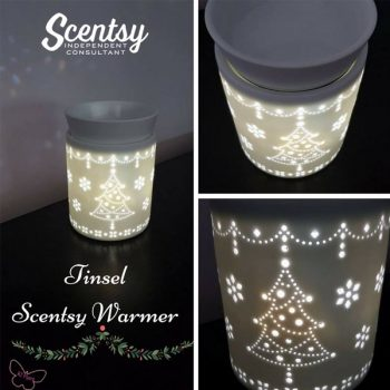Tinsel Scentsy Christmas Warmer
