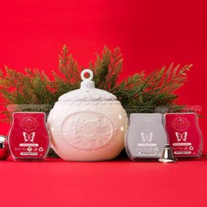Scentsy Christmas Cottage Warmer Bundle