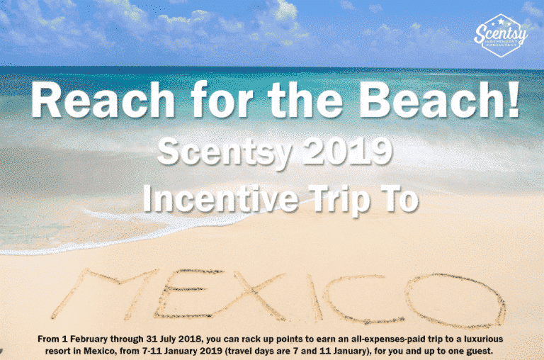 It's time to Reach for the Beach! Scentsy 2019 Incentive