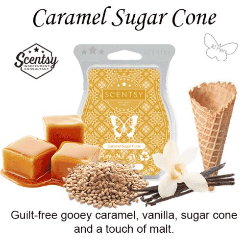Caramel Sugar Cone Scentsy Bar