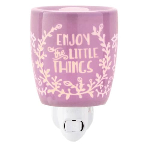 Enjoy the Little Things Scentsy Plugin Mini Warmer