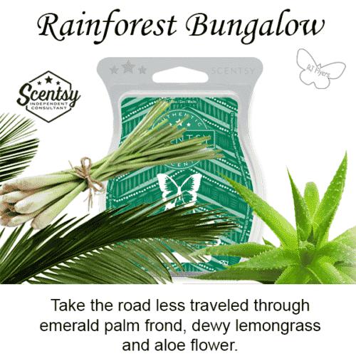 Rainforest Bungalow Scentsy Bar