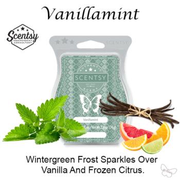 Vanillamint Scentsy Wax Melt