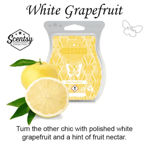 White Grapefruit Scentsy Bar